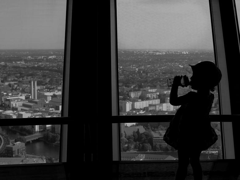 Tv toren berlijn - Uitzicht vanuit de tv toren in Berlijn