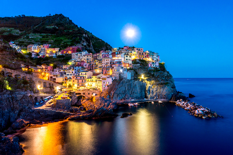 Manarola by Moonlight