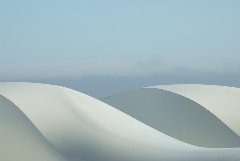 White Curves - Onbewerkte foto