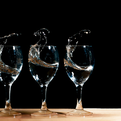 glaasje water