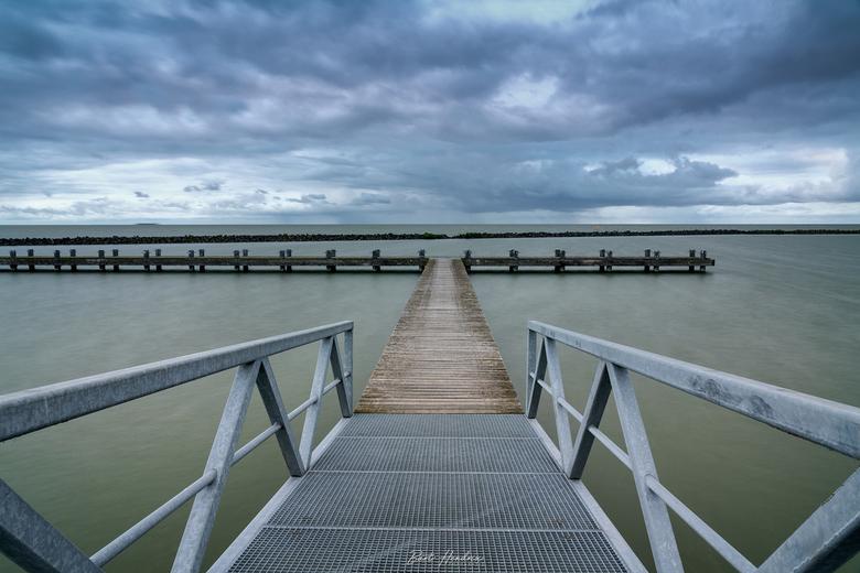 Lakeside - Long exposure aan het Markermeer