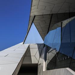 Blauw driehoek