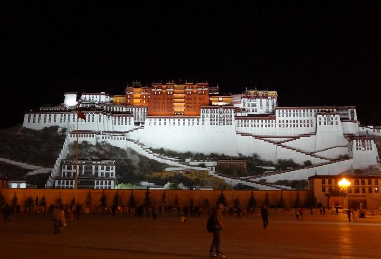 Tibet Lhasa - Potala Palace -