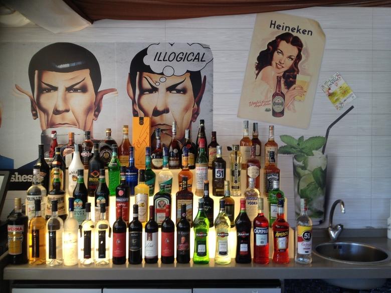 Italian Bar - In Italie - Lekker drinken aan de bar.