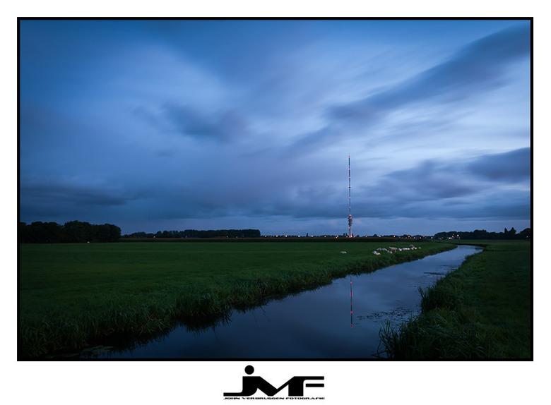 Zendmast - Afgelopen zaterdagmorgen.<br /> <br /> Locatie IJsselstein