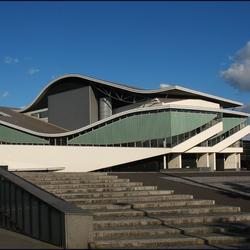 modern gebouw  Theater