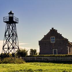 Vuurtoren en lichtwacht huis (Schokland)