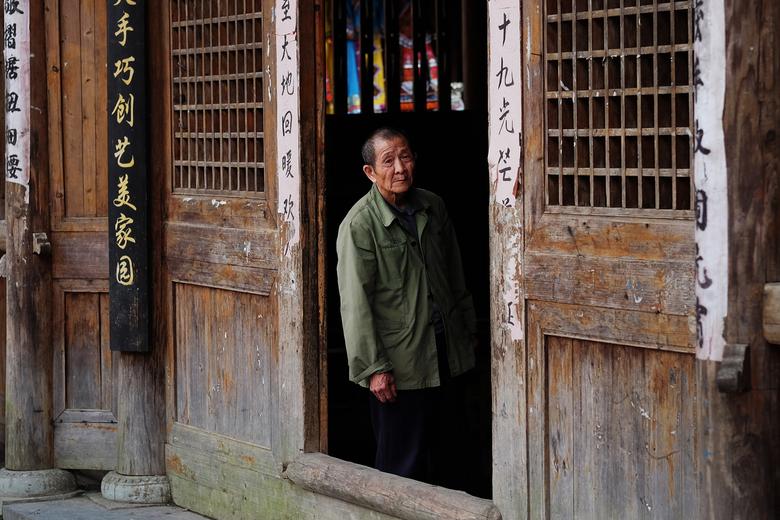Man at the door