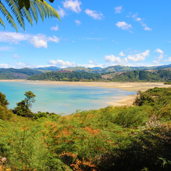 Abel Tasman National Park, bij eb getij
