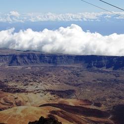 Krater van de Teide Tenerife..