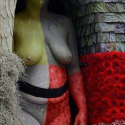 Erotiek bij de bloemencorso.
