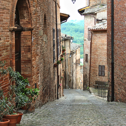 Sarnano, De Marken, Italië
