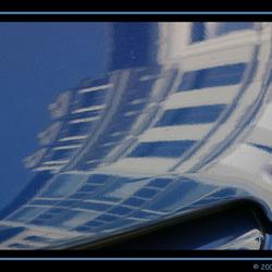 reflectie op auto