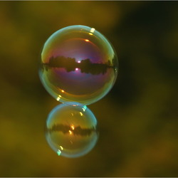 Groepje Zeepbellen