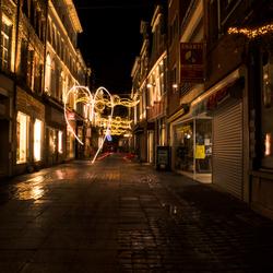 Warme lichten, koude straten