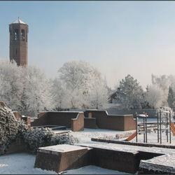 wondere wereld in de sneeuw