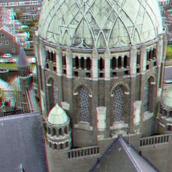 Koepelkathedraal St-Bavo Haarlem 3D
