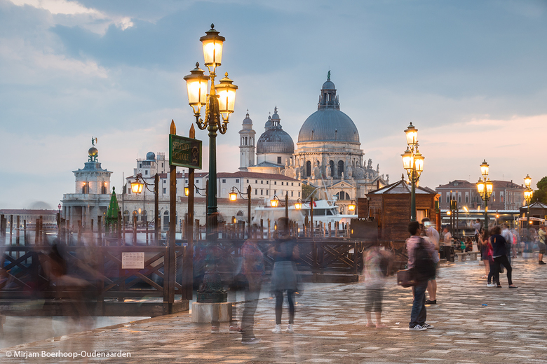 Moving around in Venice -