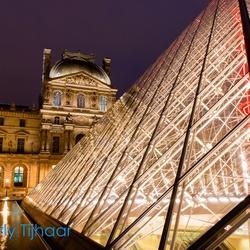 Louvre close-up