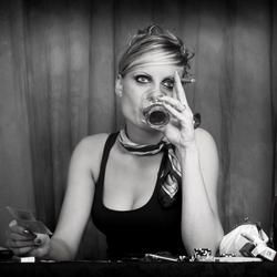 My pokerface .