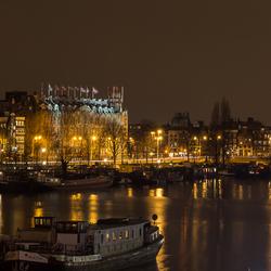 Amsterdam bij avond