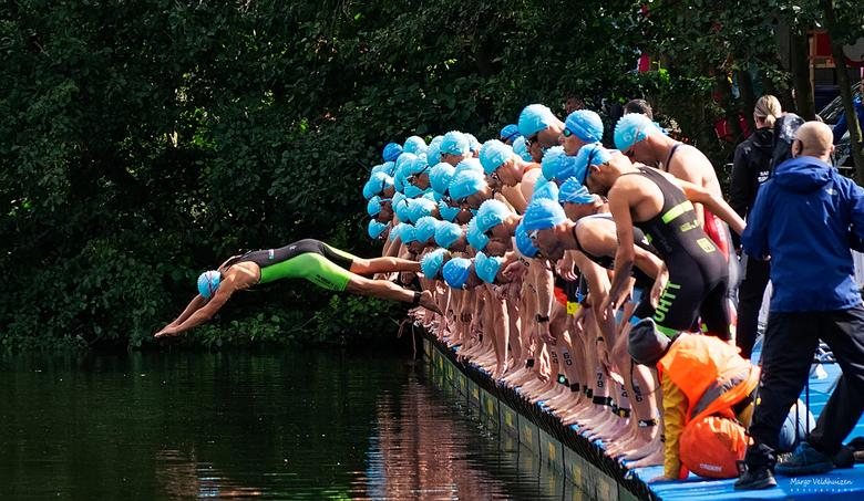 Valse start - NK Triathlon Veenendaal