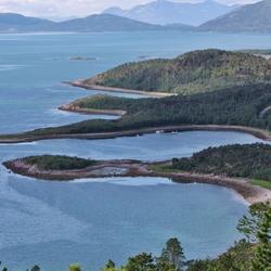 Skatvikfjellet Solbergfjorden Senja