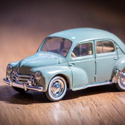 Miniatuur auto
