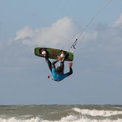 Kitesurfer Scheveningen