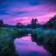 De hemel toont zijn mooiste kleurenpallet