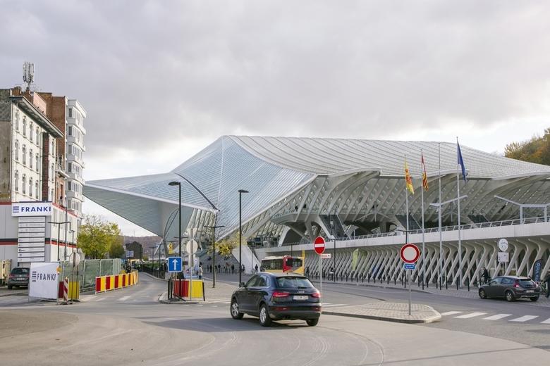 Luik 1 - Het beroemde station Guillemins in Luik van de Spaanse architect Santiago Calatrava.