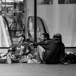 mensen van de straat
