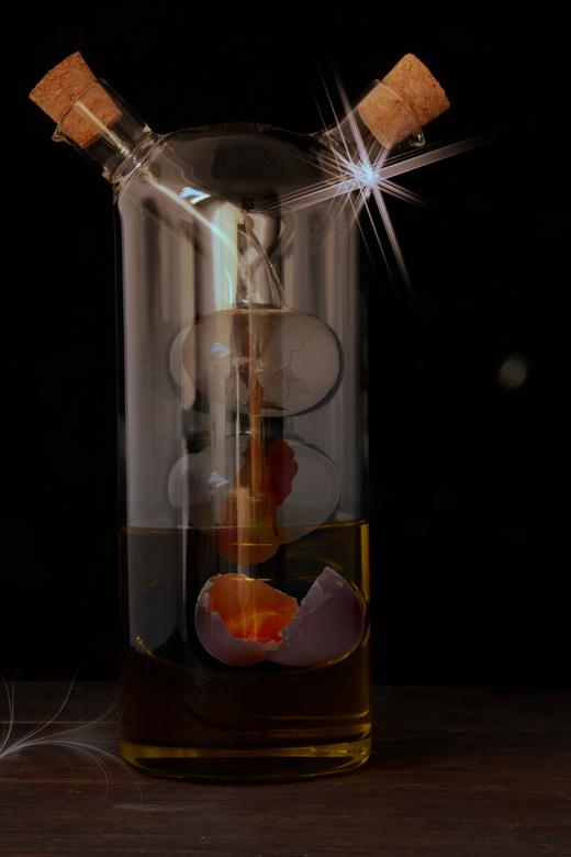 Recipe for disaster - Recipe for disaster<br /> <br /> Olie, ei en azijn ;<br /> goed voor de behandeling van droog haar<br /> en voor het maken v