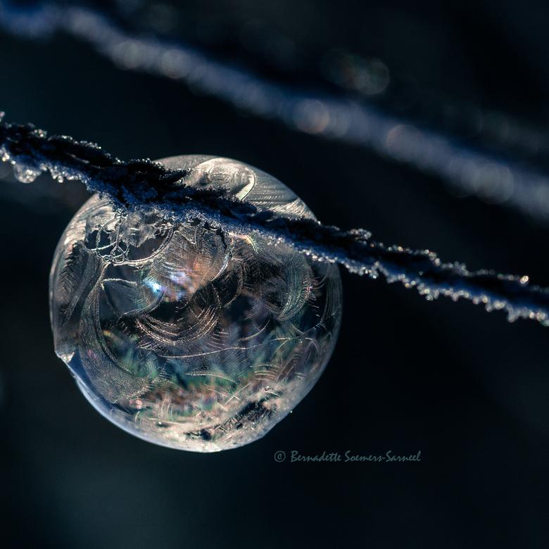 Frozen bubble - Bellenblazen terwijl het vriest. Heerlijk gespeeld met leuk resultaat. Jammer dat de vorst weer voorbij is. Ik ben nog lang niet uitge