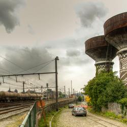 Antwerpen - Omheining Statie van Borgerhout