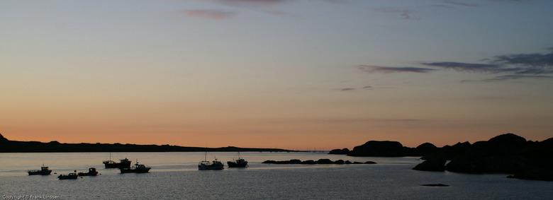 Zonsondergang te Mull - Schotland aan de westkust.<br /> Het eiland Mull: mooie zonsondergang. <br /> Tip: foto bekijken in de vergroting