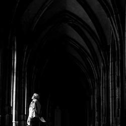 In het klooster