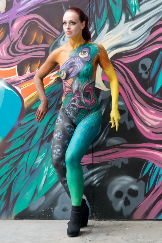 My first bodypaint(shoot), #2