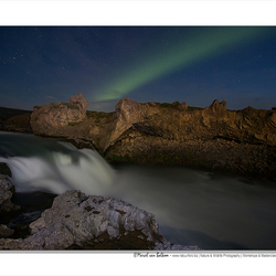 Lightpainting in iceland