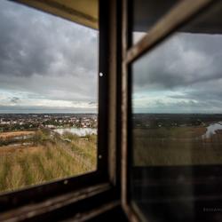 Zicht vanaf de Axelse Watertoren