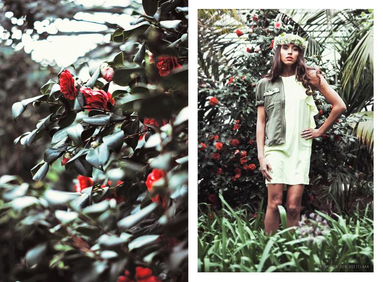 Green Treasure  - Model: Thalassa van Beek<br /> Photography: Amanda Den Buitelaar<br /> Styling: ByMel Styling<br /> Mua: Melanie Wortman