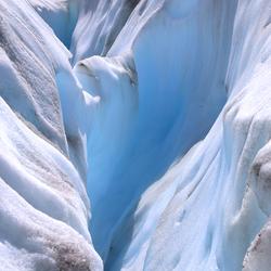 Op de Fox Glacier (Nieuw Zeeland)