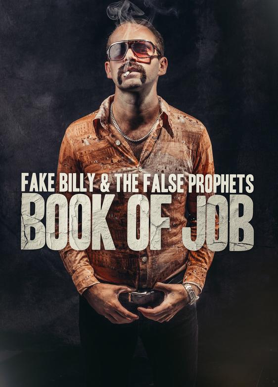 Book of job - Portret van de zanger van een band ter promotie van de nieuwe videoclip