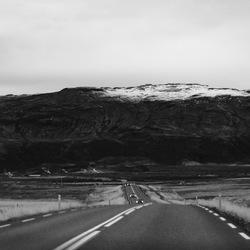 Mountain ahead