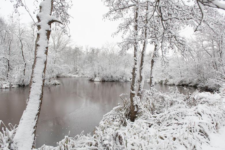 Winters tafereel - Winter in Zwartsluis
