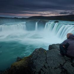 zelfportret in ijsland