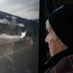 Reflection of grandma