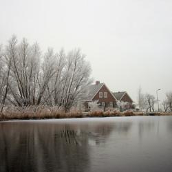 _winter- langs de Amstel