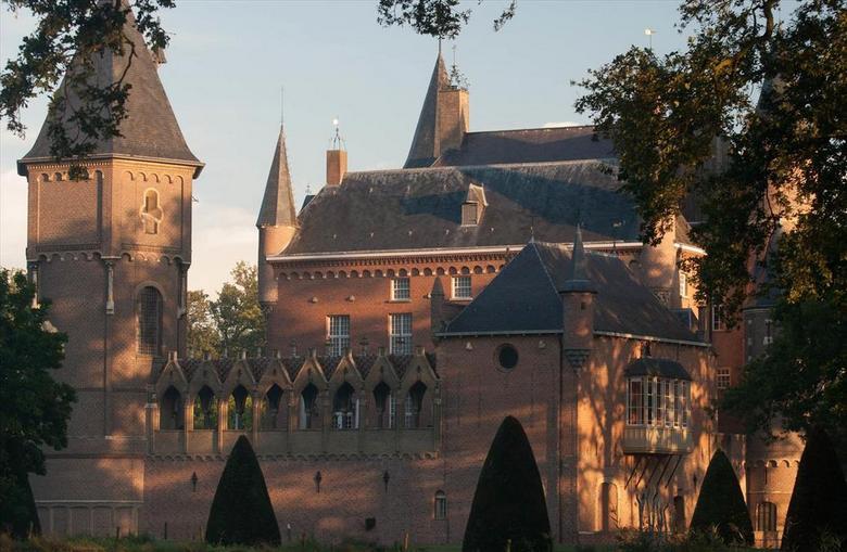 Kasteel Heeswijk - Kasteel Heeswijk in de vroege ochtend