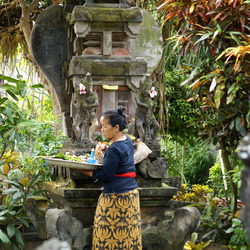 Rond toch over Bali